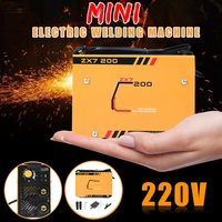 Forgelo Portable AC 220V Handheld Mini Arc Electric Welding Machine DIY For Welding Working and Electric Working