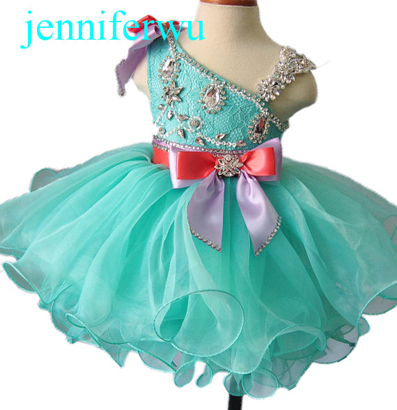 stunning little girl princess and formal  dress with glittering rhinestone and crystal  1T-6T EB2008A burnett frances hodgson a little princess