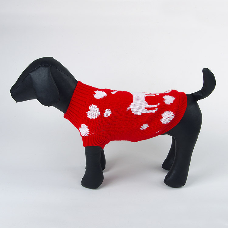 Pet Dog Cat Warm Knitwear Sweater Small Puppy Coat Apparel Winter Warm Sweater Coat