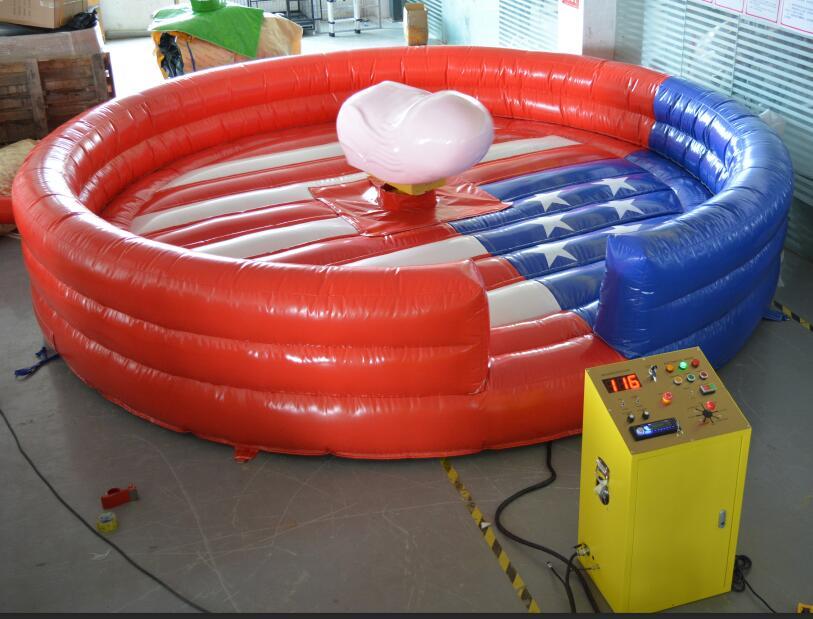 Pénis gonflable de PVC d'usine pour le jeu mécanique de taureau de jeu de sport et un taureau