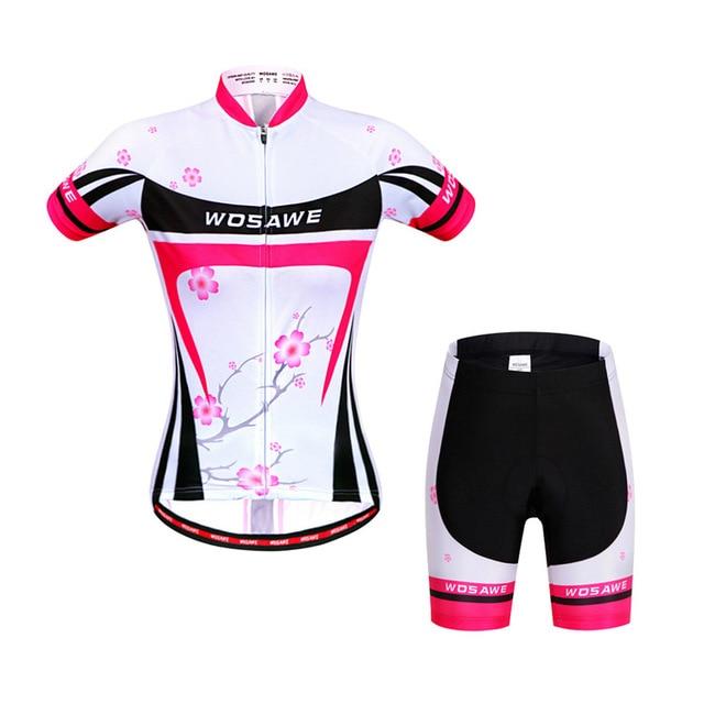 Mulheres Pro Roupas de Ciclismo MTB Bicicleta Jersey Equitação Desgaste Bicicleta Jersey Roupas Ciclismo Jersey Bicicleta Desgaste Da Bicicleta Roupas Curtas Conjuntos 2