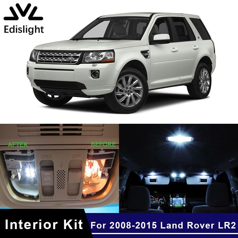 2008 Land Rover Lr2 Interior: Edislight 15Pcs Ice Blue Canbus LED Lamp Car Bulbs