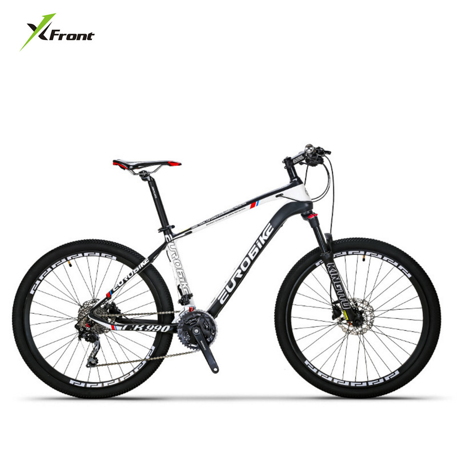 New Brand Mountain Bike Carbon Fiber Frame 27.5 Wheel 27 30 Speed Oil Disc Brake MTB Bicicleta Outdoor Sport Downhill Bicycle