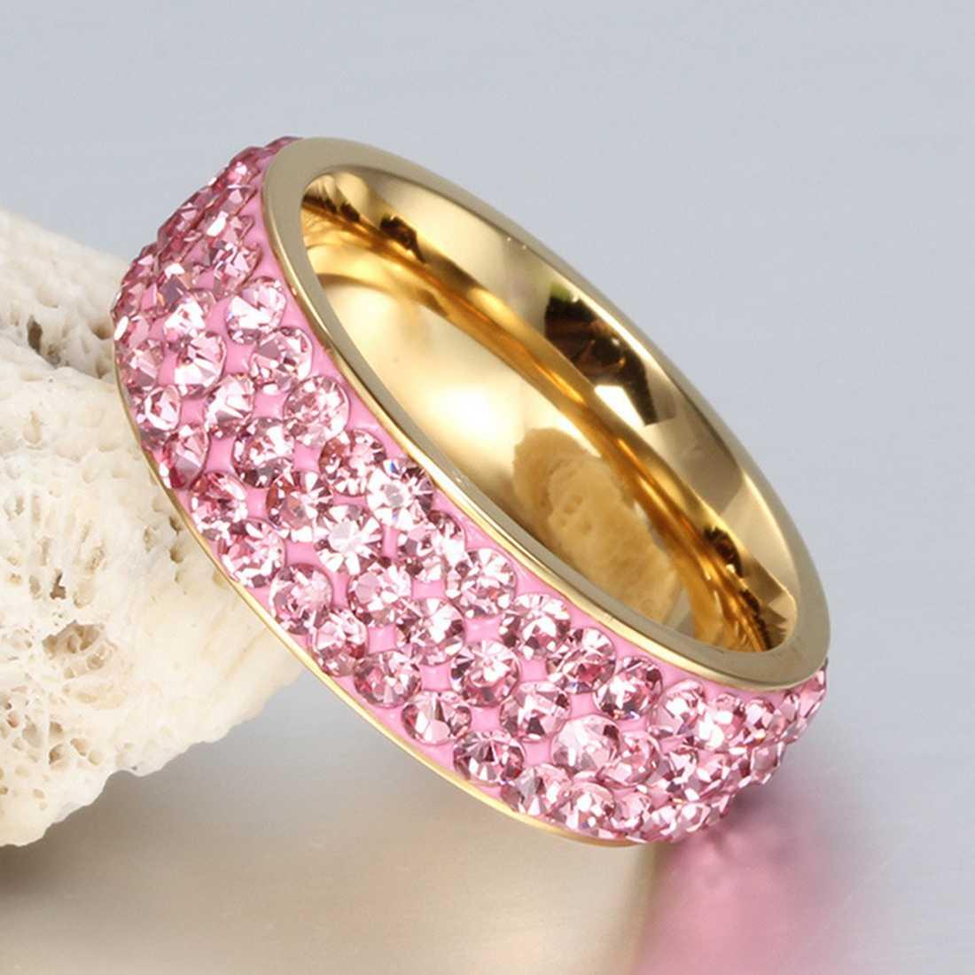 Картинки розовые кольца