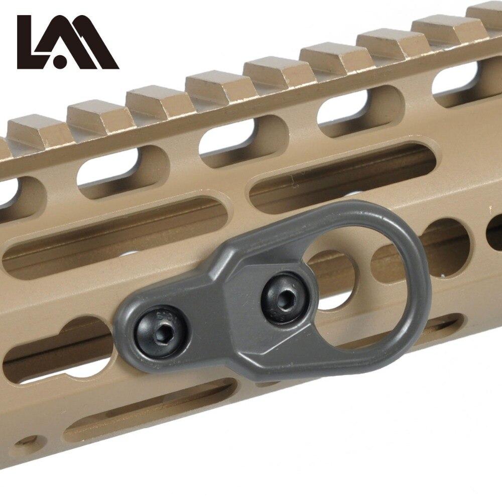 LAMBUL MLOK Handguard MS2 MS3 Sling Mount Adapter KeyMod Élingues Pour Clé Mod Système Et M-LOK Garde Main Complices AR15 m4
