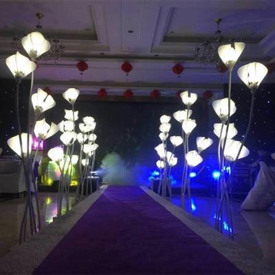 Hochzeit Beleuchtung | Hochzeit Beleuchtung Strasse Fuhren Gang Stehen Saule Hochzeit