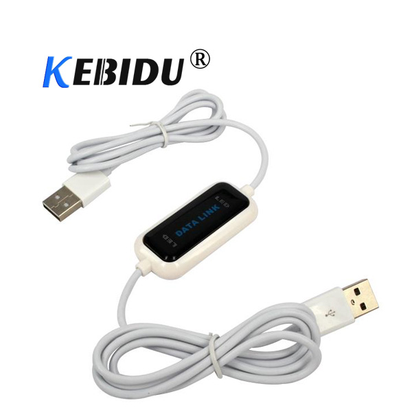 2017 High Speed Usb Pc To Pc Online Share Sync Link Net Direct Data File Transfer Bridge Led Cable Easy Copy Between 2 Computer Computer & Office