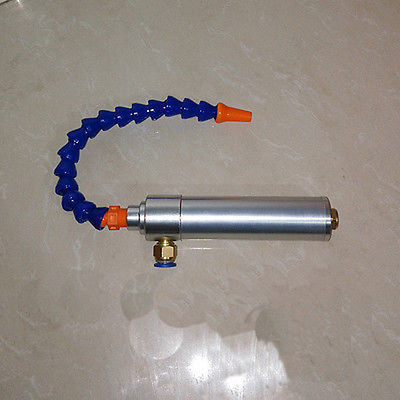 Vortex Hot and Cold Air Dry Cooling Gun with Heatproof Cover Flexible Tube 175mm vortex cold and hot air dry cooling gun with flexible tube aluminium alloy 145mm lxm