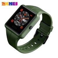 SKMEI Outdoor Sport Smart Watch Men Bluetooth Multifunction Fitness Watches 5Bar Waterproof Digital Watch reloj hombre