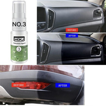 20ml retreading agent interior leather maintenance cleaner Refurbisher Agent Window Glass Auto Car Accessories Care Leather Shoe cheap Window Cleaning Use for plastic leather etc Liplasting Repair refurbished Instant brightening Slow aging Anti corrosion