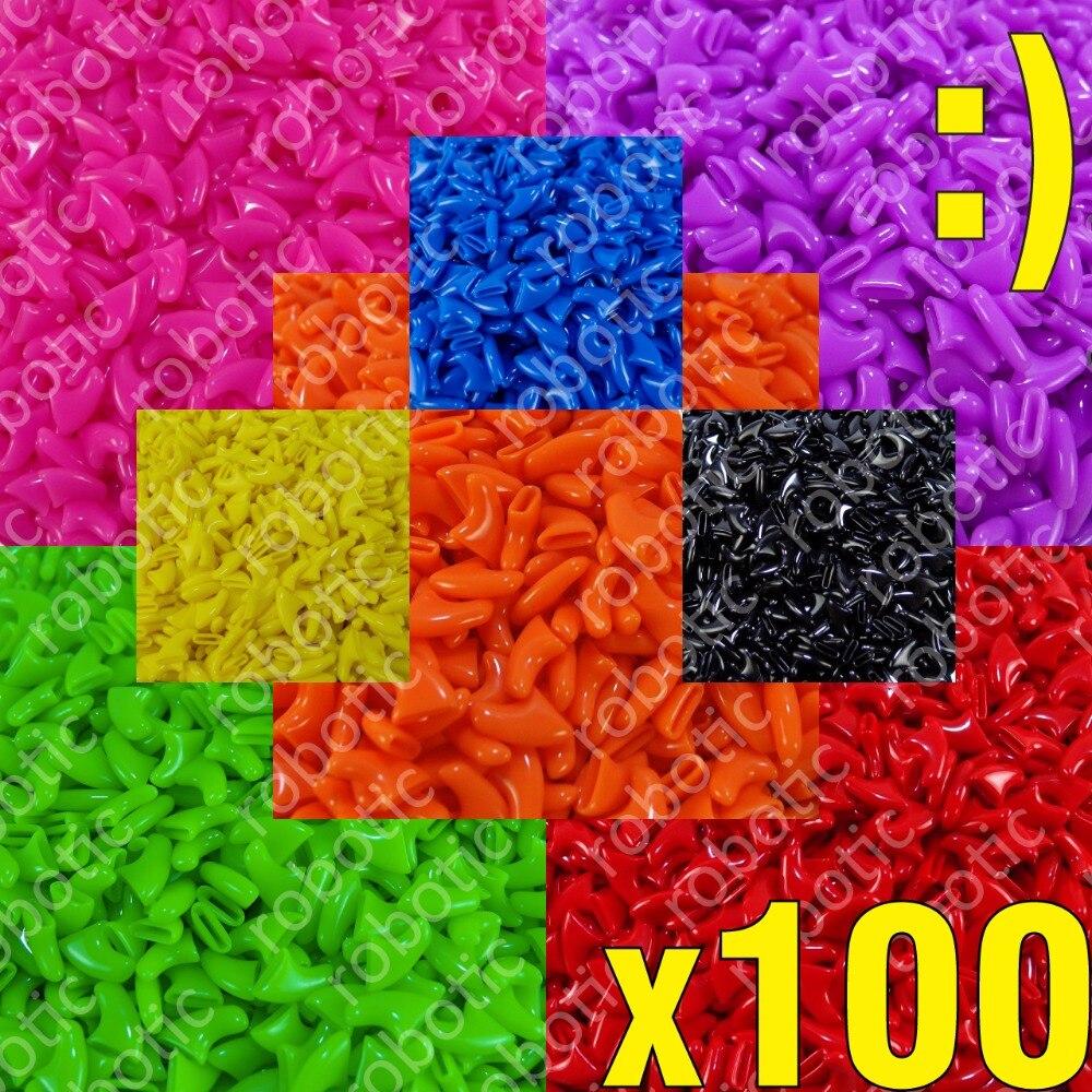 100pcs - Soft Nail Caps For Cats + 5x Adhesive Glue + 5x Applicator /* Xs, S, M, L, Cover, Cat, Ztp */