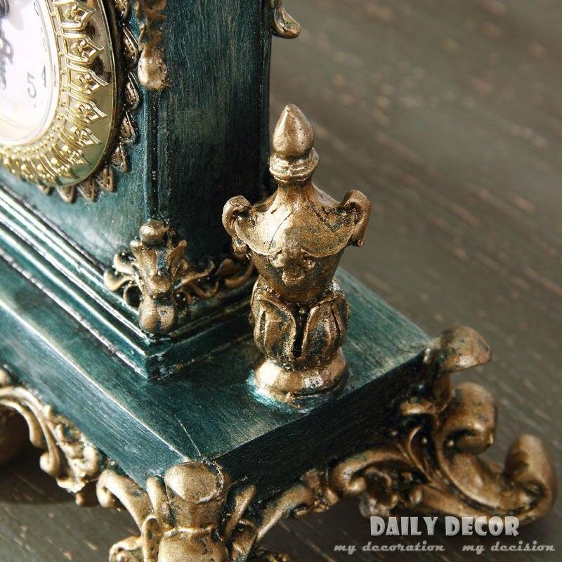 Vintage relojes de mesa europeos americanos soporte de decoración/reloj de escritorio reloj antiguo del abuelo reloj de mesa envío gratis-in Relojes de mesa y de escritorio from Hogar y Mascotas    3