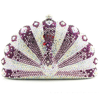 Роскошные Стразы Для женщин клатч бриллиантами Женские вечерние сумки хрустальные свадебные Сумки кошелек сумки может поместиться большо