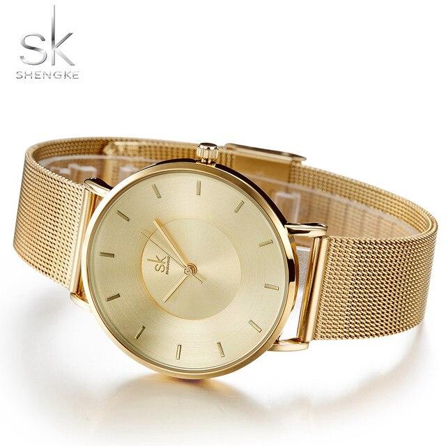 0f9629f0d433 Relojes Mujer marca de lujo de oro rosa reloj de cuarzo de las señoras reloj  de