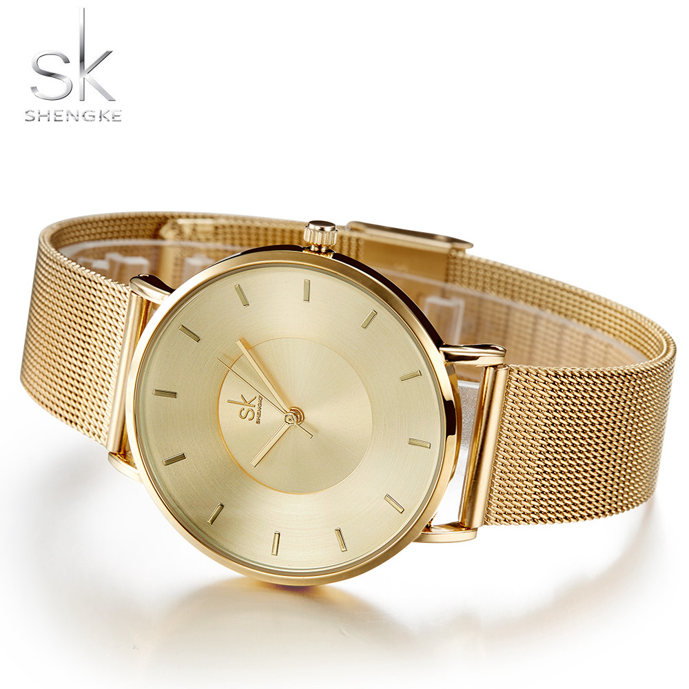 Women Watches Luxury Brand Rose Gold Quartz Watch Women Ladies Watch Stainless Steel Mesh Female Bracelet Clock Relogio Feminino kimio brand rose gold luxury slim bracelet ladies casual business waterproof clock women dress stainless steel mesh quartz watch