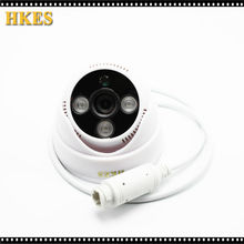 HKES High Resolution Mini POE IP Camera 720P Indoor CCTV Cam 1MP