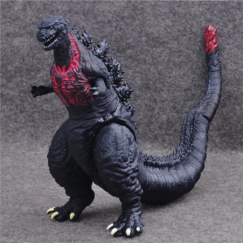 Monster Godzilla Pvc Action Figure Toy Anime Cartoon Collection Godzilla Dispaly Doll Children Birthday Juguetes Gift 30cm pvc lifelike space godzilla monster dinosaur model toy ction figures boy toys cartoon collection toys kids birthday gift