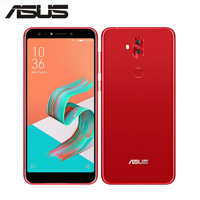 US $189 13 22% OFF|ASUS ZenFone 5 Lite ZC600KL 4G LTE Mobile Phone 4GB 64GB  4 Camera 20MP NFC 6 0