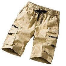 men shorts sweat hip hop streetwear summer military cotton