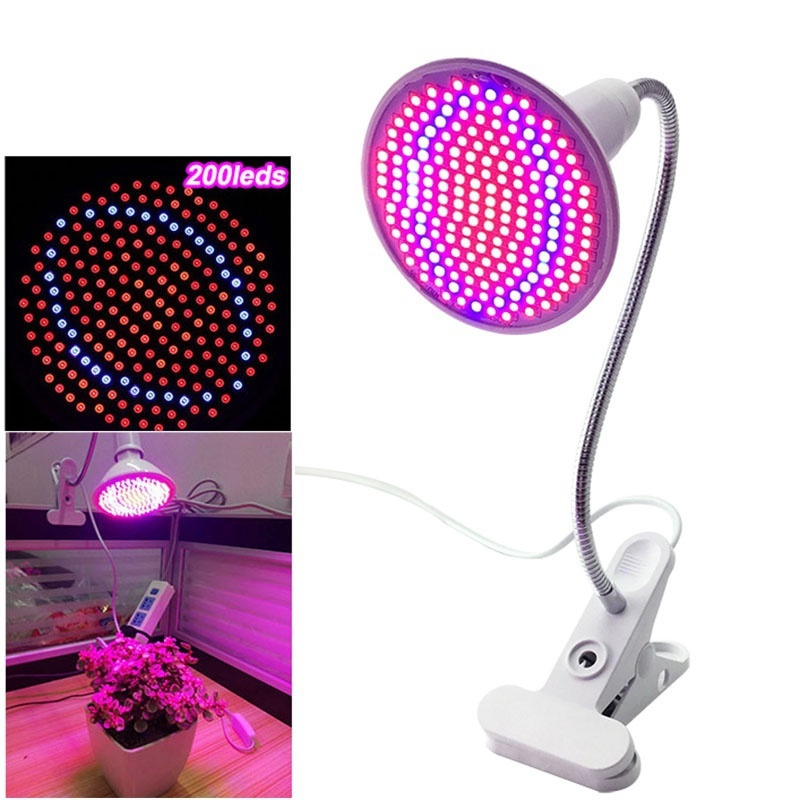 HENYNET 60/200 Leds Plant Grow Light Bulbs Aquarium for Plants Indoor Greenhouse Garden Plant Vegetables Grow Lights