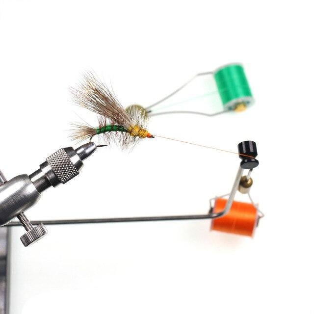 1 PC 140D mouche attachant fil fil soie pour taille 6 ~ 14 mouches truite basse mouche attachant matériel rouge Olive rouge gris avec bobine Standard