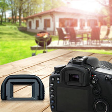 centechia EF wizjer EF gumowe Eye Cup okularu eyecup dla Canon 650D 600D 550D 500D 450D 1100D 1000D 400D SLR Camera tanie tanio C0862