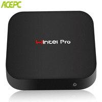 ACEPC T8 Fanless Pocket PC Windows10 64bit 4GB DDR3L/32GB eMMC/4K Intel x5 Z8350 HD Graphics Mini Desktop WiFi 2.4G/Bluetooth4.0
