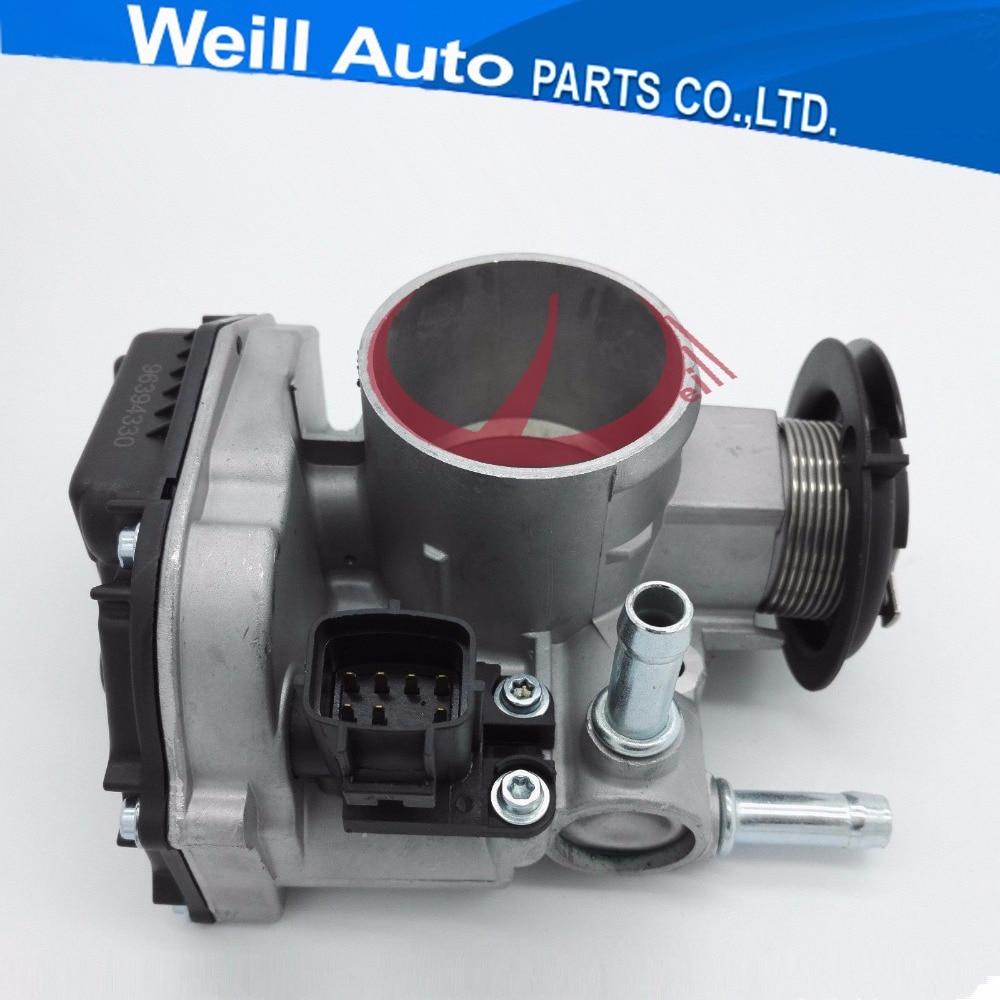 NEW 50mm Throttle Body Valve Intake case for Chevrolet Spark Lacetti 1 2 OEM 96394330