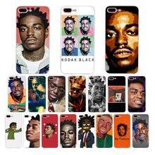 Rapper Kodak Black Soft Silicone Case for iPhone Xr Xs Max X Phone cover shell 8 7 6 6S Plus 5 5S SE 10 Cases Funda Coque цена и фото