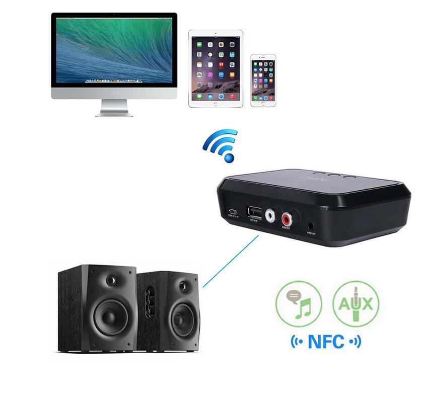 Tragbares Audio & Video Funkadapter Liberal Nfc Drahtlose Bluetooth 4,1 Audio Empfänger Tragbare Bluetooth Adapter Nfc-aktiviert 3,5mm Rca Stereo Musik Sound Tv Auto Lautsprecher