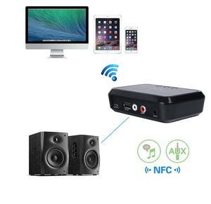 Image 2 - NFC Wireless Bluetooth 4.1 Audio Receiver Portable Bluetooth Adapter NFC Enabled 3.5mm RCA Stereo Music Sound TV Car Speaker
