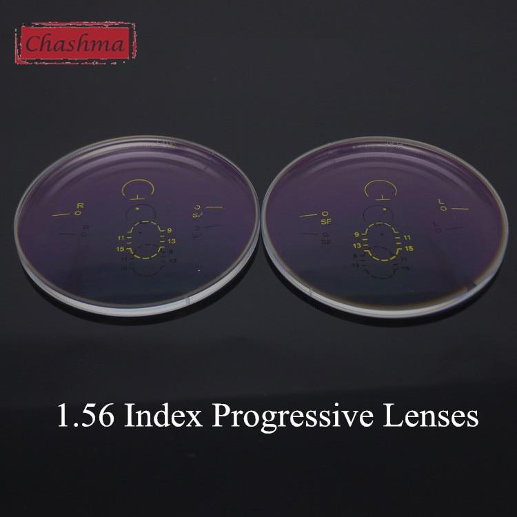 Chashma 1 56 Index Wide Field Verifocal Lenses Clear Color Eyes Optical Glasses Progressive Multifocal Lenses