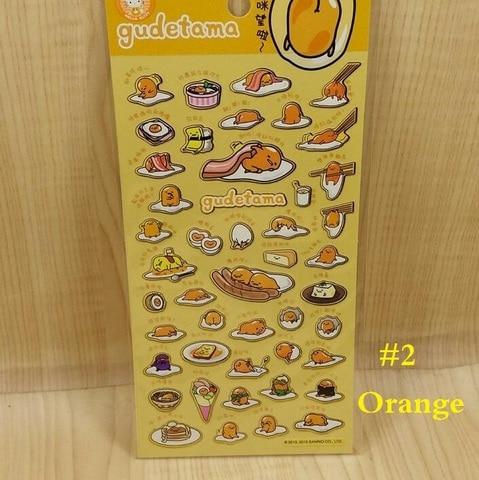 20 pacotes lote bonito dos desenhos animados mr egg serie pvc adesivo decoracao etiqueta artigos