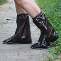 1 pair reusable Rain shoes cover Women/men/kids children thicken waterproof Boots Cycle Rain Flat Slip-resistant Overshoes