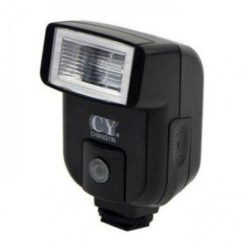 YinYan CY-20 Hot Shoe Sync Port 5600K Mini uniwersalna lampa błyskowa Speedlite do aparatów Nikon Canon Panasonic Olympus Pentax sony alpha tanie i dobre opinie Fujifilm Leica Lumix NoEnName_Null