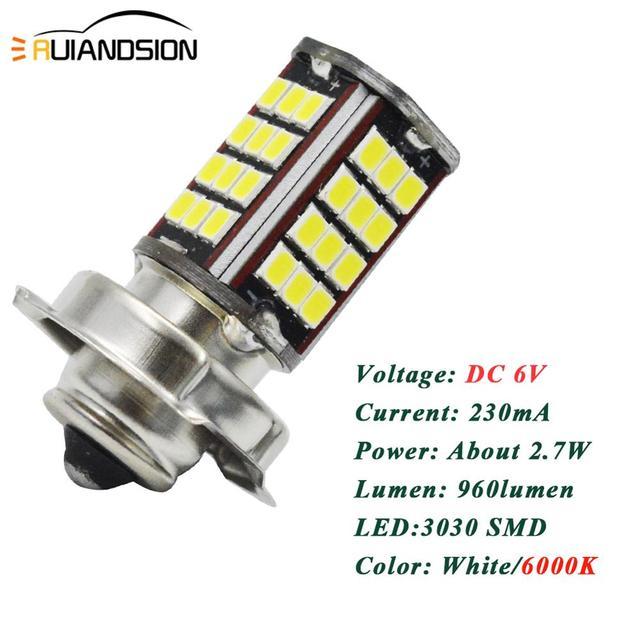 Купить 1 шт moto rbike rcycle p26s 3030 56smd светодиодный головной картинки цена