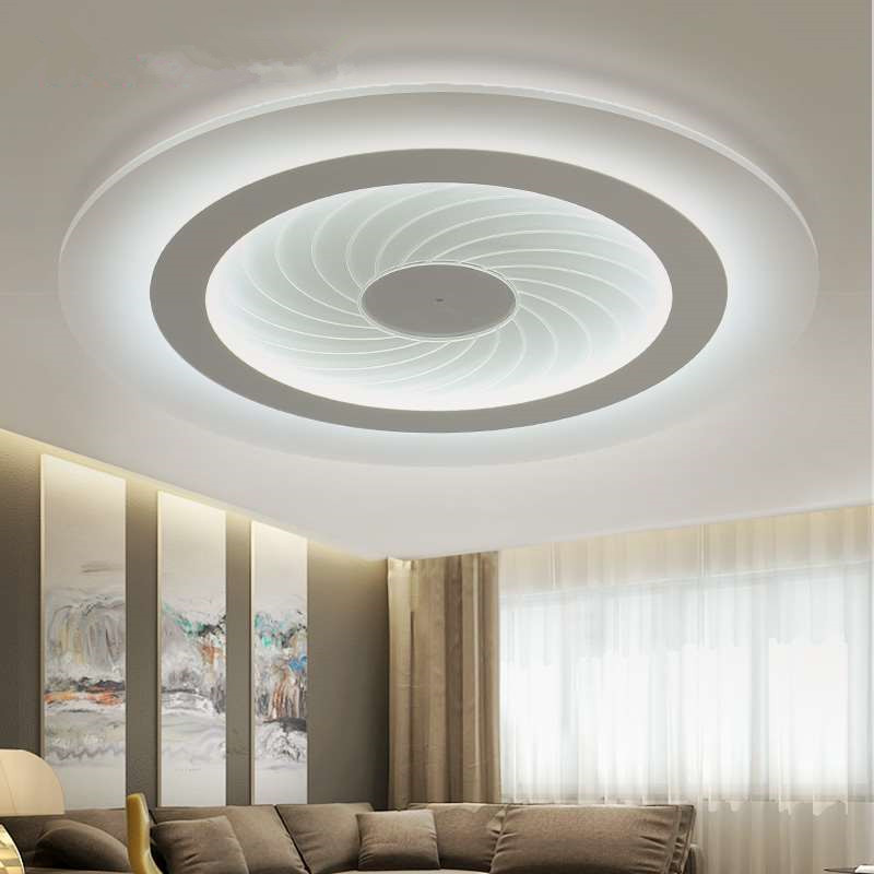 2016 modern LED Ceiling Lights acrylic Ultrathin Living Room ceiling lights bedroom Decorative lampshade Lamparas цена