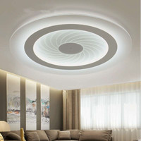 2016 modern LED Ceiling Lights acrylic Ultrathin Living Room ceiling lights bedroom Decorative lampshade Lamparas