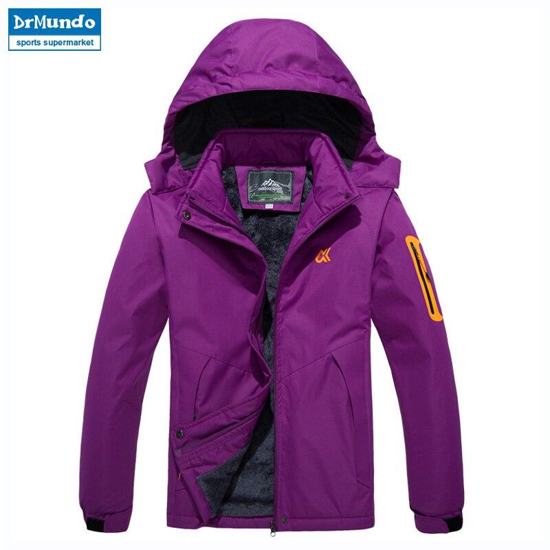 Veste de Ski femme imperméable polaire veste de neige manteau thermique pour extérieur femmes vestes d'hiver neige vêtements de Ski grande taille marque