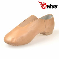 Jazz Dance Shoes High quality Tan Jazz Shoes for women EJ 003