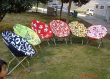 6pcs/Lot-Moon Chair Relax chair Bean Bag Colorful Lounge Modern Folded Deck Chair Dormette Summer Chair for Yard/Party/Barbecue