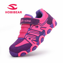 HOBIBEAR 2018 Spring Children Sneakers Student Kids Shoes For Boys Comfortable Running Sneakers Girls Flat Trainers Sport Shoes