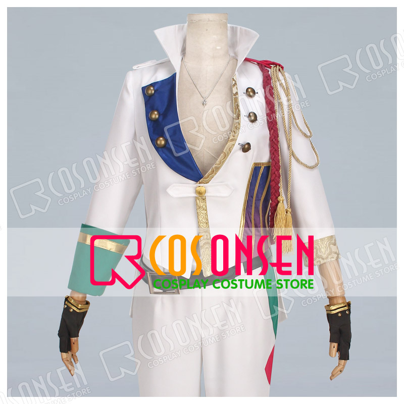 COSPLAYONSEN Tsukiuta THE ANIMATION ONE CHANCE HADUKI YOU Cosplay Costume full set
