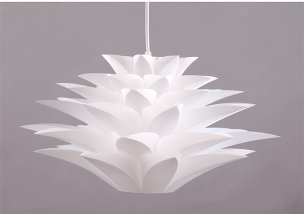promotion 50cm Acrylic Shade Pendant Light contemporary light Lighting  bedroom lamp light White Lamp(China