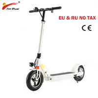 10 inch Adult motor Scooter Electric scooter with seat Electric Foldable skateboard longboard electric kick scooter 48v 500W