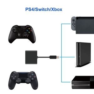 Image 4 - Keyboard Mouse Mice Conversion Receiver For XBOXONE/PS4/Switch Host Plug And Play Receiver Adapter Converter Device