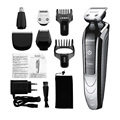 5in1  Nose Ear Hair Trimmer 2016 Pro Nose Hair Trimmer Face care Electric Shaver aparador de pelos masculino pelo nariz KM1832