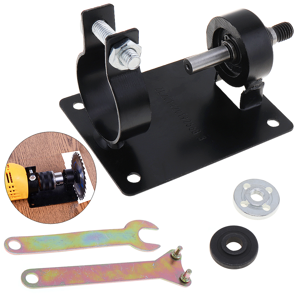 5 unids/set 10mm taladro eléctrico de asiento soporte conjunto con 2 Wrenchs y 2 juntas para pulir/ de/corte de
