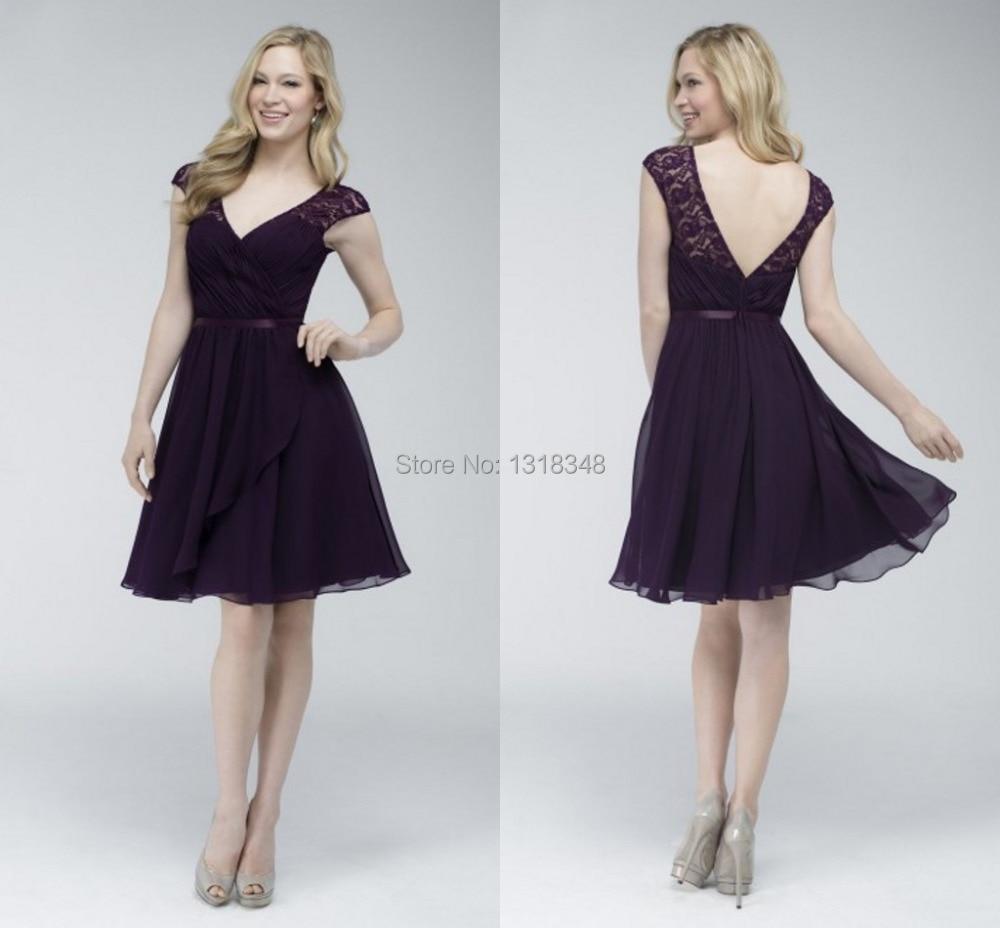 Short purple lace bridesmaid dresses bridesmaid dressesdressesss short purple lace bridesmaid dresses ombrellifo Choice Image