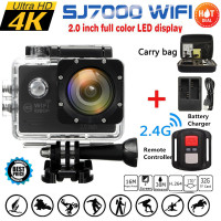 Waterproof 16MP Full HD 1080P WIFI 2 0 Inch Action Camera Sports DVR Camcorde Remote Box